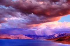 Lake Tso Moriri Stock Photography