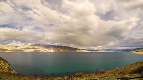 Lake Tso Moriri stock video footage