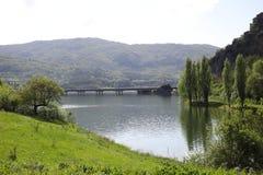 Lake Turano Royalty Free Stock Photography