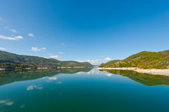 Lake Turano Royalty Free Stock Photo