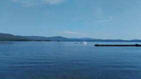 Lake Turgoyak Stock Photography