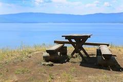 Lake Turgoyak Ural Russia Royalty Free Stock Photography