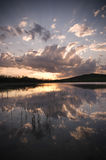 Lake In Twilight Royalty Free Stock Images