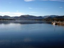Lake Ullswater. In the Lake District royalty free stock photos
