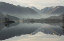 Free Lake Ullswater Reflections Stock Photo - 24153260