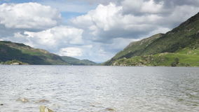 Lake Ullswater. Tranquil scenery at Ullswater, the second largest lake in the Lake District, UK stock video footage