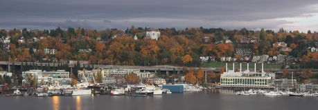 Lake Union Autumn Stock Image