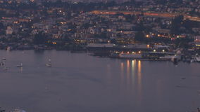Lake Union time lapse stock video