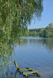 Lake Unterbacher See,Duesseldorf,Germany Royalty Free Stock Photography