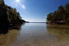At the Lake Vättern Stock Photo