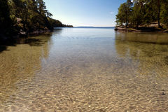 At the Lake Vättern Royalty Free Stock Photos