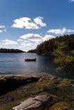 At the Lake Vättern Royalty Free Stock Photo