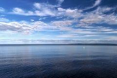 At the Lake Vättern Royalty Free Stock Image