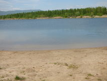 Lake vacation Stock Photo