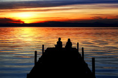 Lake Vacations Royalty Free Stock Images
