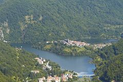 Lake of Vagli, Garfagnana, Lucca Stock Photo