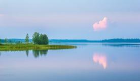 Lake Valdayskoye. Russia Stock Images