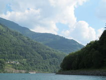 Lake in the Valley, Grenoble Royalty Free Stock Images