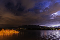 Lake of Varese, landscape Royalty Free Stock Photo