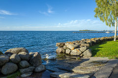 Lake Vattern, Sweden Royalty Free Stock Photo