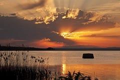 Lake Vaya Royaltyfri Bild