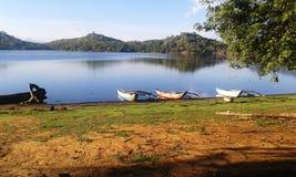 Lake veiw in Sri Lanka. Ancient lake veiw in Sri Lanka royalty free stock image