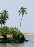 Lake veli in trivandrum, kerala india Stock Photography