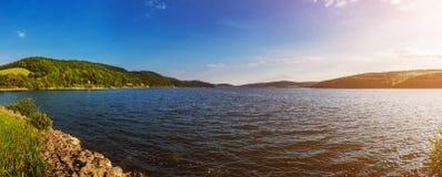Lake Velka Domasa royalty free stock photography