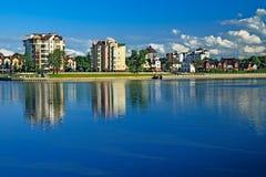 Lake Verhnee (Oberteich). Kaliningrad, Russia Stock Photography