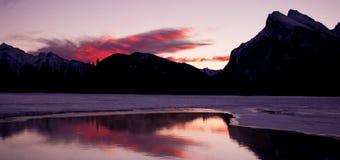 Lake Vermillion. Just before sunrise Royalty Free Stock Image