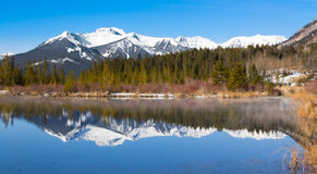 Lake Vermillion and mountains Royalty Free Stock Image