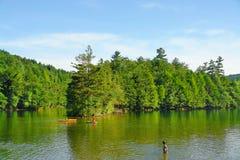 lake vermont Arkivbilder