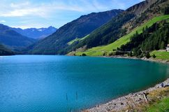 Lake Vernago Stock Image