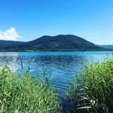 Lake of Vico Royalty Free Stock Image