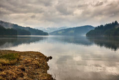 Lake Vidra in Romania Stock Photos