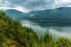 Lake Vidra in Romania Royalty Free Stock Photo