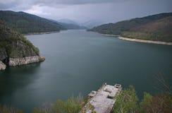 Lake Vidraru or Lacul Vidraru royalty free stock photos