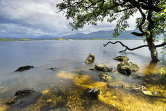 Lake view. Lough Leane Lake view from Ross Island. Killarney National Park, County Kerry, Ireland Stock Photo