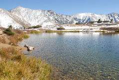 Lake view. In loveland pass colorado Stock Photos