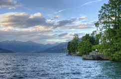 Lake view at Como Italy Royalty Free Stock Photo