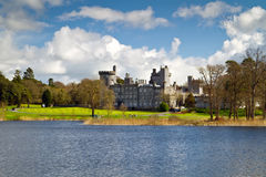 Lake view for Dromoland Castle Royalty Free Stock Image