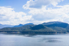 Lake View images taken in the surrounding mountains. Royalty Free Stock Image
