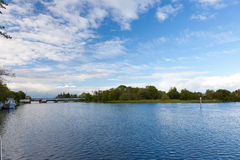 Lake view Ireland. With shannon river Royalty Free Stock Photography