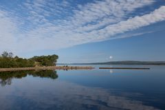 Lake view Ireland Stock Images