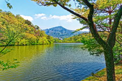 Lake view in Kyoto region, Japan Stock Images