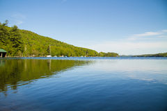 Lake. An view of a lake in New Hampshire in spring Royalty Free Stock Photo