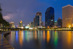 Lake View Park in Bangkok. Royalty Free Stock Photos