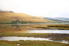 Lake view Scotland Royalty Free Stock Photography