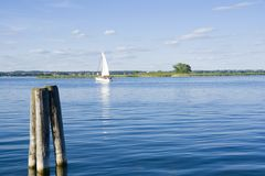 Lake view Stock Photography