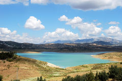 Lake Vinuela, Andalusia. Royalty Free Stock Images